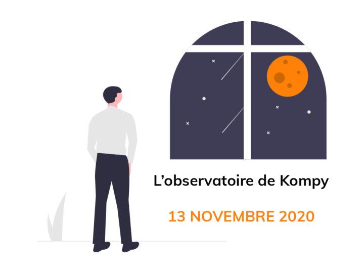 L'observatoire de Kompy du 13 novembre 2020