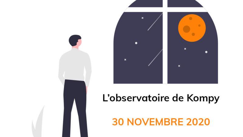 L'observatoire de Kompy du 30 novembre 2020