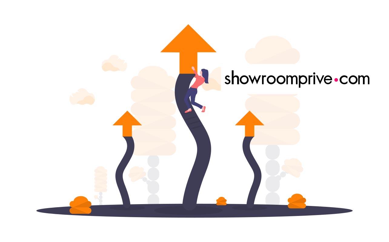 Le baromètre de Kompy : SHOWROOMPRIVE