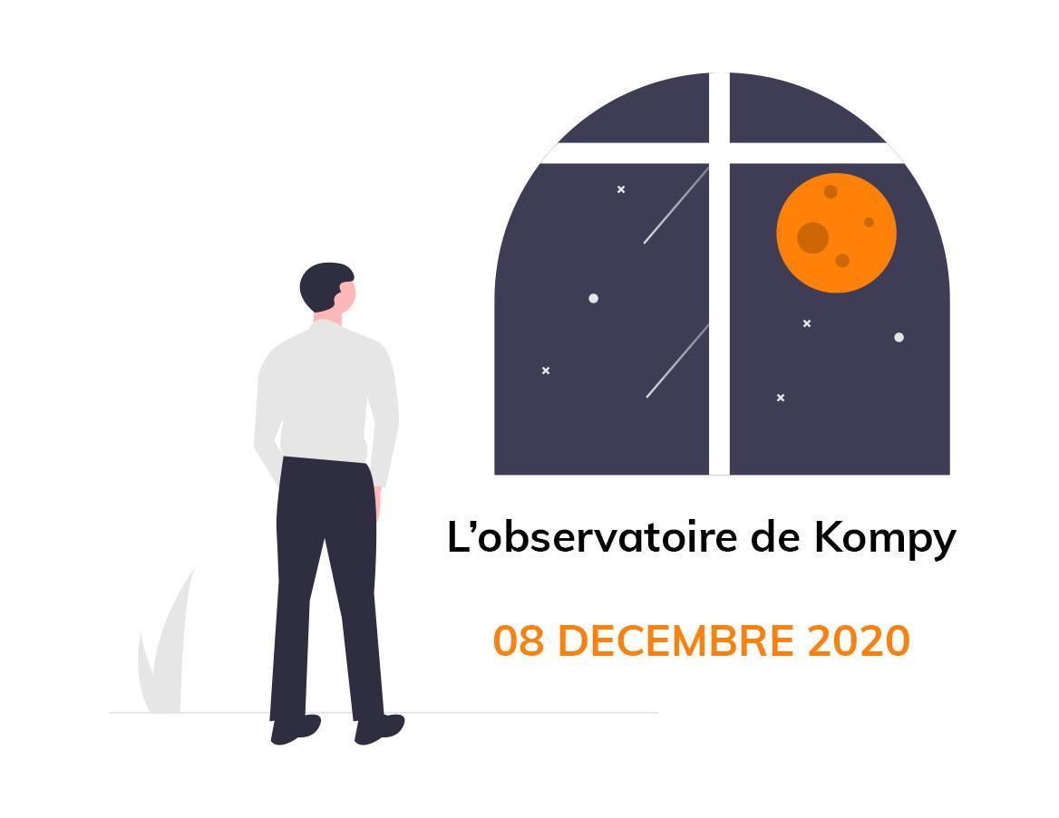 L'observatoire de Kompy du 08 décembre 2020