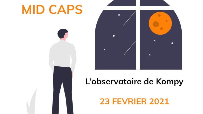 L'observatoire de Kompy du 23 février 2021
